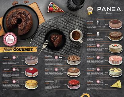 Diseño de Menú para Pastelería