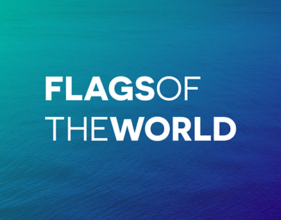 Flags of the World - Vector Flat Icons