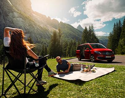 Mercedes-Benz V-Class - Dolomites Roadtrip