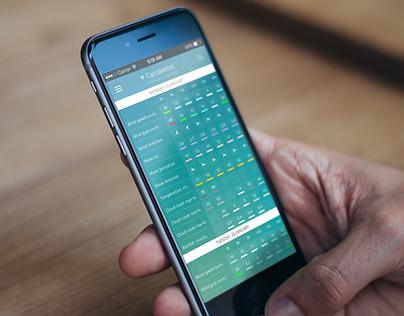WindGuru (mobile app redesign)