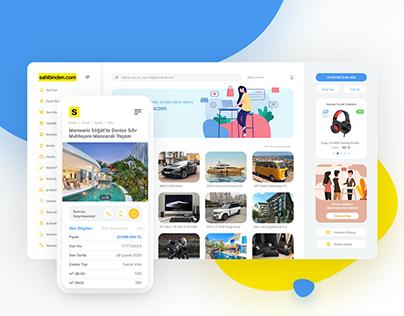 Sahibinden.com — Website Redesign