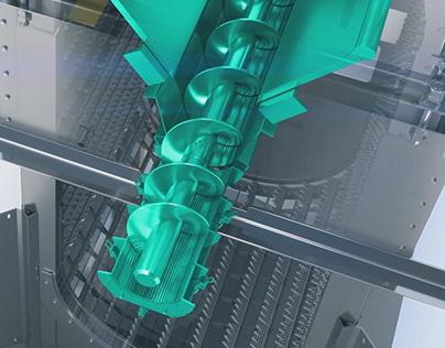 Noggerath® Band Screen Centre-Flo™ CF