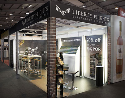 Liberty Flights Exhibition Stand