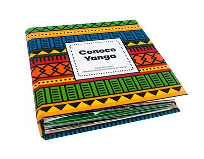 Conoce Yanga, libro pop-up