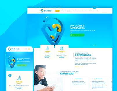 MedSelect - UI/UX Website