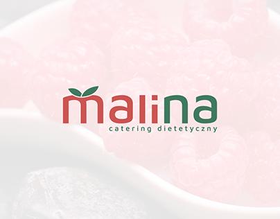 Malina Catering Logo Design