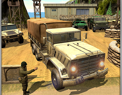 Offroad US Army Vehicle Simulator - Post Production