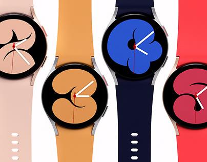 Samsung Galaxy Watch 4 Design Film