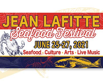 Jean Lafitte Seafood Festival creative