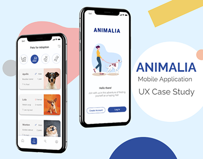 Animalia- App for pet adoption and rescue