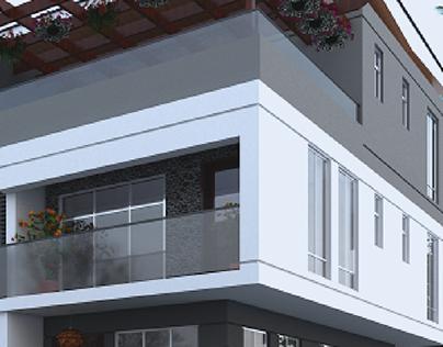 SEMI-DETACHED HOUSES 1&2