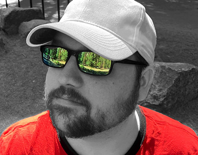 Complementary Color Self-Portrait
