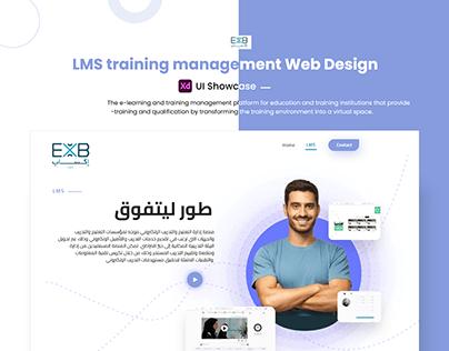 LMS training management Web Design