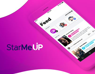 STARMEUP | Mobile App