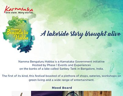 Lakeside Festival Branding and Decor