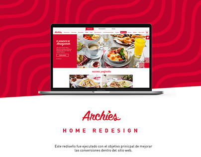 Archies Home Redesign 2018