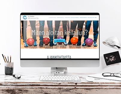 Finnish Bowling Federation - webpage