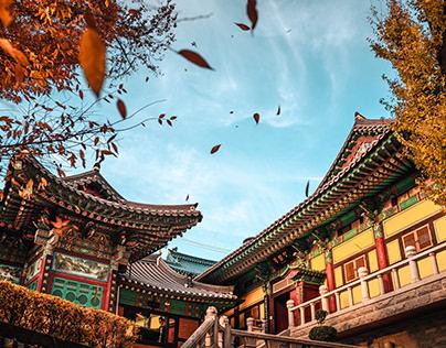 _SOUTH-KOREA_SEOUL_ Buddhist Temple
