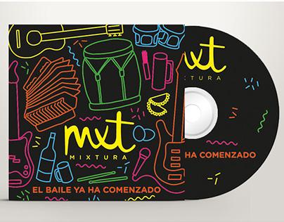Mixtura CD, Arte de Tapa