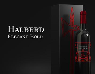 Halberd Wine: Label Design