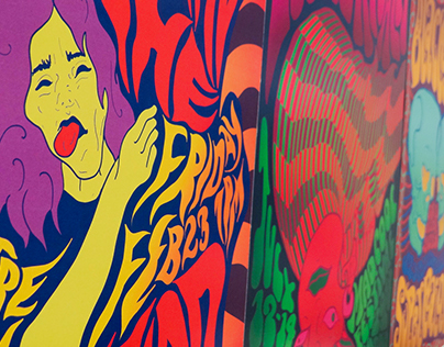 Contemporary Psychedelic Band Posters