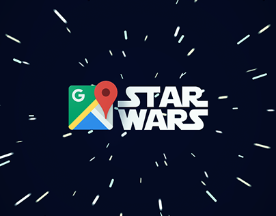 Star Wars on Google Maps