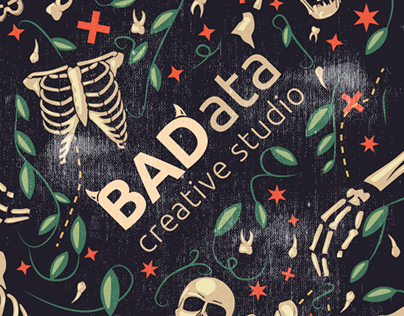 "BAData ""Leaves and bones"" pattern"