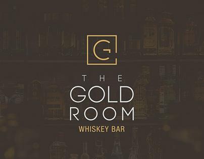 The Gold Room Whiskey Bar - Branding