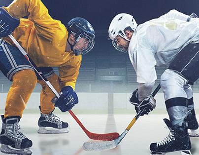 2015 NJSIAA High School Ice Hockey Championships Poster