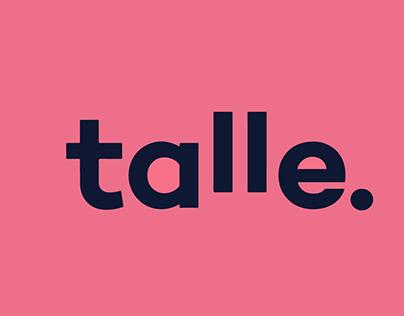Arte para redes sociais empresa Talle