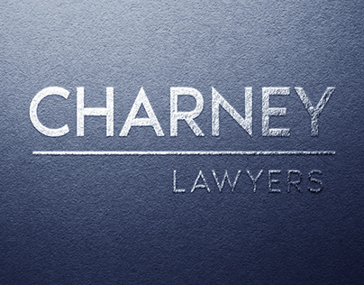 Charney Lawyers - Logo Design and Stationery