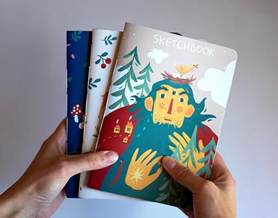 Sketchbook covers