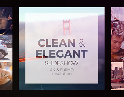 Clean And Elegant Slideshow - After Effects Templates On Behance