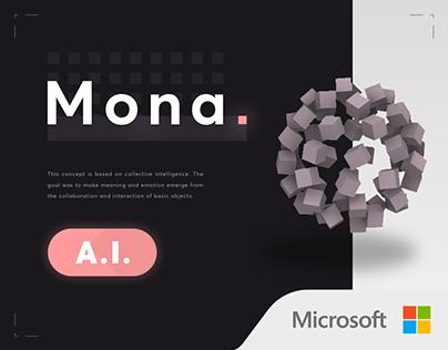 Mona Microsoft AI [Siri, Google assistant, Alexa]