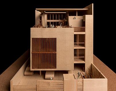 Bhalla House Model - Studio Lotus