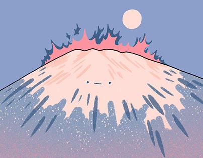 Moon Fuji