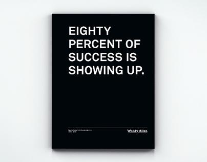 Woody Allen – Annual Report