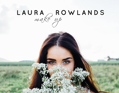 Laura Rowlands make up artist - Logo