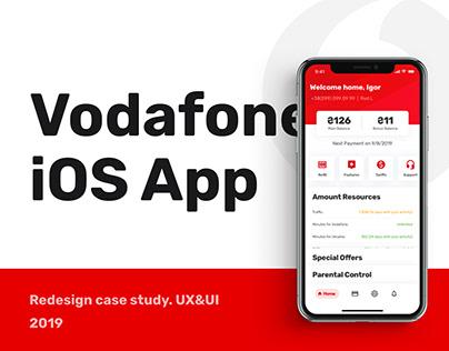 Vodafone iOS App Redesign Concept