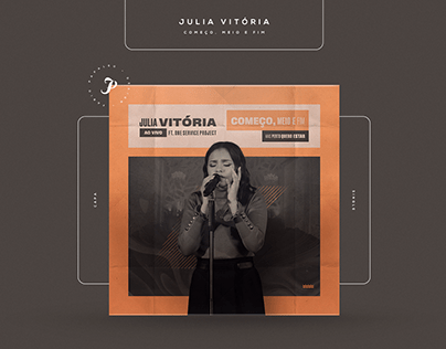 Julia Vitória - One Service Project (Singles)