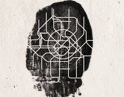 Плакат «Отпечатки городов».