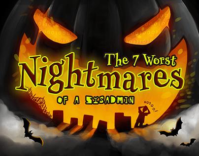 Halloween Illustrations for Acronis Backup