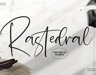 Rastedral - Beautiful Handwritten Font
