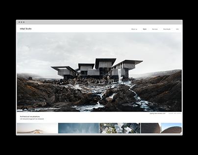 Iddqd studio, web-site design