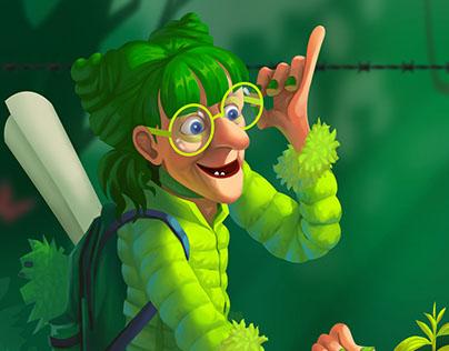 Green Lady #Sweetheart