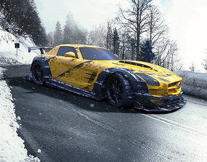 SLS AMG CGI
