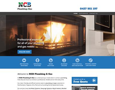 NCB PLUMBING BRANDING PRINT, SIGNAGE AND WEBSITE DESIGN