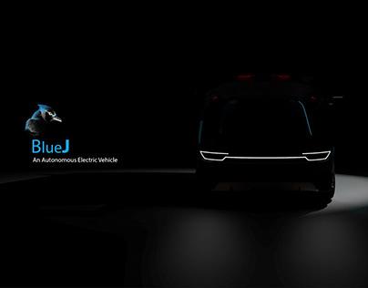 BlueJ-Autonomous Electric Vehicle for 2025
