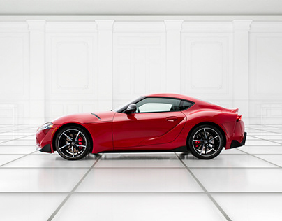 Toyota Supra for Autoweek Magazine - by Nick Pacione