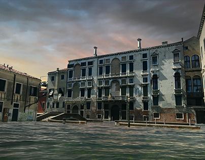 Apocalypse of Venice(Photoshop edit)